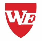 We logo solid red